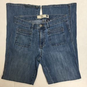 GAP factory, flared stretchy jeans women's W 32